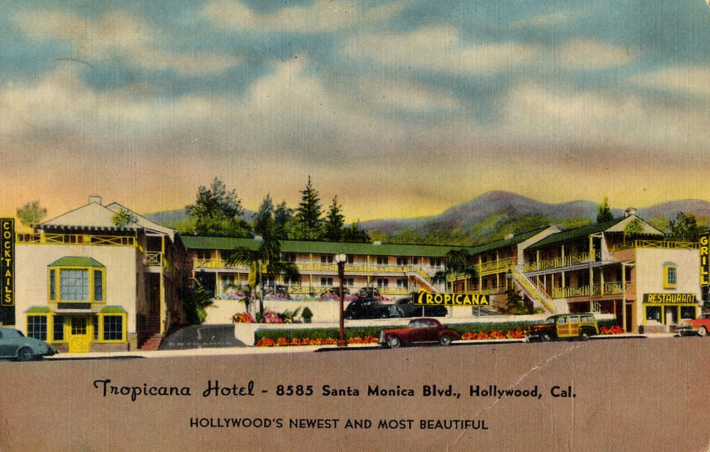 Tropicana Motel, 8585 Santa Monica Blvd., West Hollywood