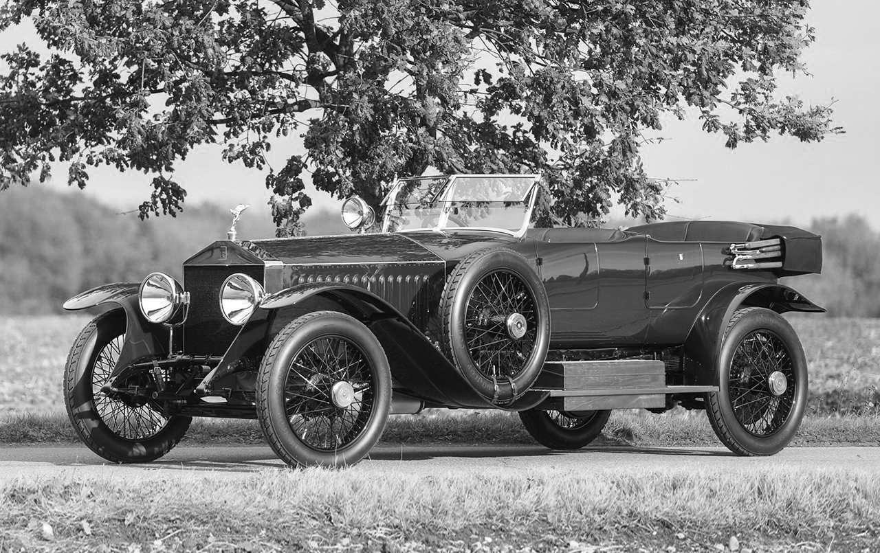 1919 Rolls-Royce Silver Ghost similar to the car owned by Alla Nazimova