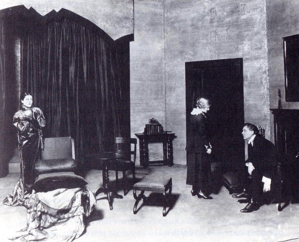 Alla Nazimova and Lionel Atwill in