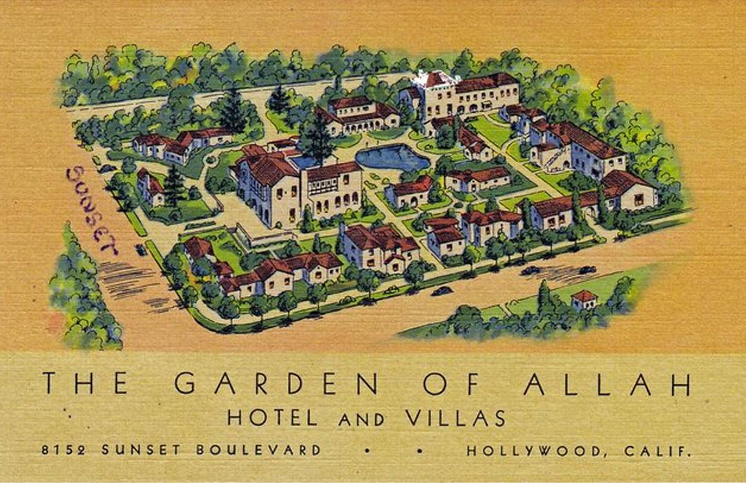 Postcard from the Garden of Allah
