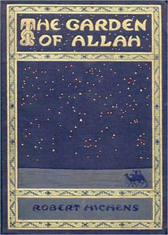 Cover of 'The Garden of Allah,' 1904 novel by Robert Smythe Hichens