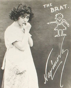 Nazmova in 'The Brat,' 1919