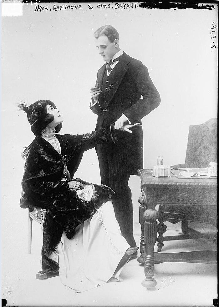 Alla Nazimova and Charles Bryant