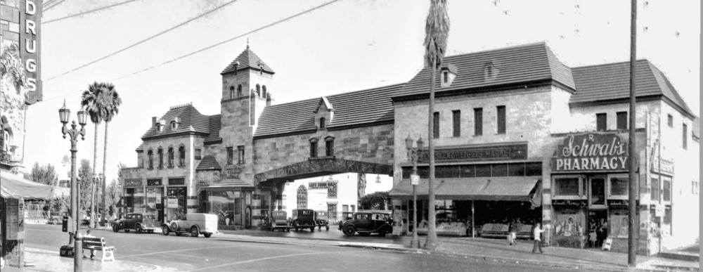 Crescent Heights market, with Schwab's on the right