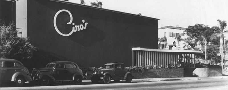 Ciro's, 1941