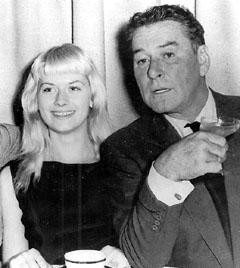 Errol Flynn and Beverly Aadland
