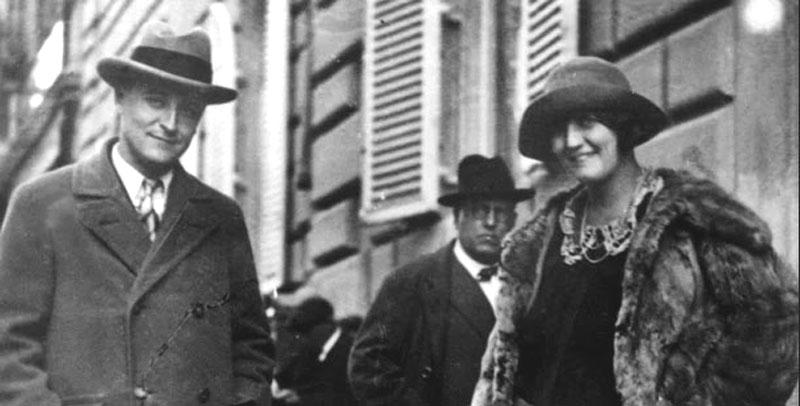 F Soctt and Zelda Fitzgerald