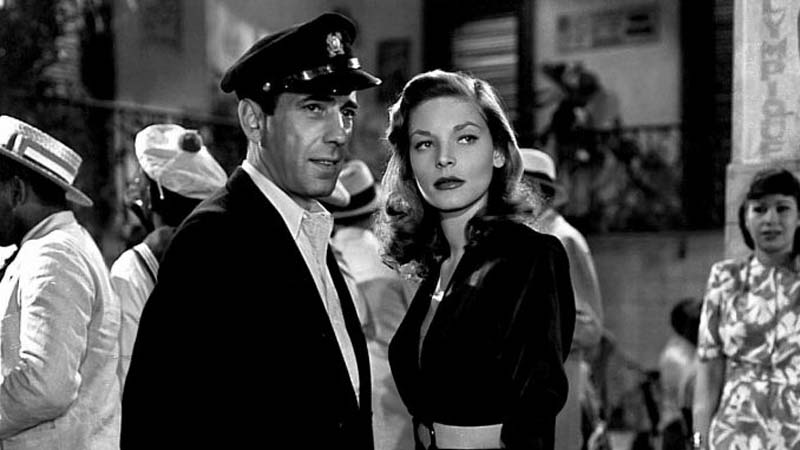 Humphrey Bogart and Lauren Bacall, 'To Have or To Have Not,' 1944