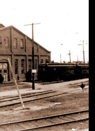 SHERMAN YARDS In the 1890s, Moses Sherman and partners built a streetcar yard at what is now the intersection of Santa Monica and San Vicente Blvds. The village of Sherman grew up around the yards, establishing the historic core of West Hollywood.