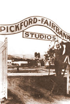 STUDIOS CITY: In 1919, Charlie Chaplin built a studio on La Brea Avenue - it's the Jim Henson Studio today. That same year Jesse Hampton built a studio on Santa Monica. It later became the Pickford-Fairbanks Studios and is now called The Lot.